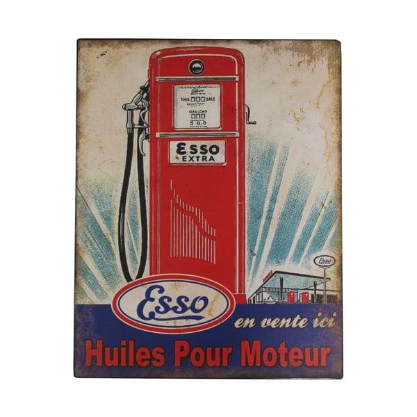 Kovová ceduľa Gas Pump