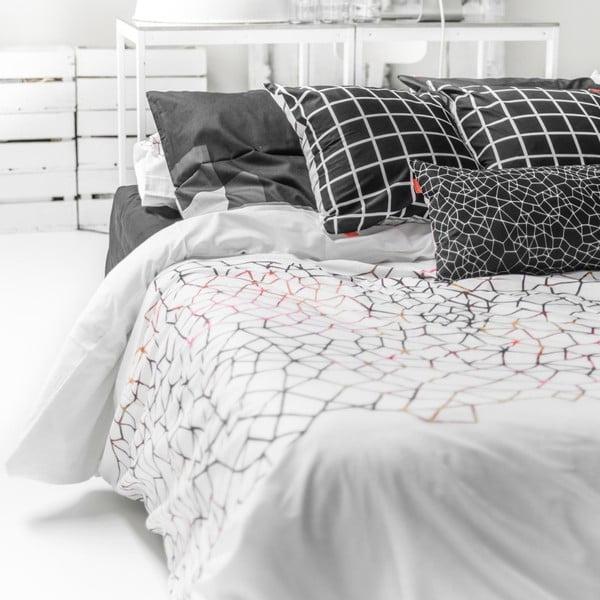 Bavlnená obliečka na paplón Blanc Net, 140×200 cm