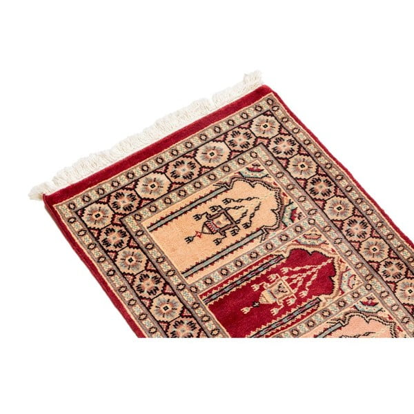 Ručne viazaný koberec Kashmir 109, 90x63 cm