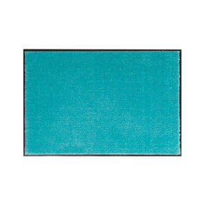 Tyrkysová rohožka Hansa Home Soft and Clean, 39 x 58 cm