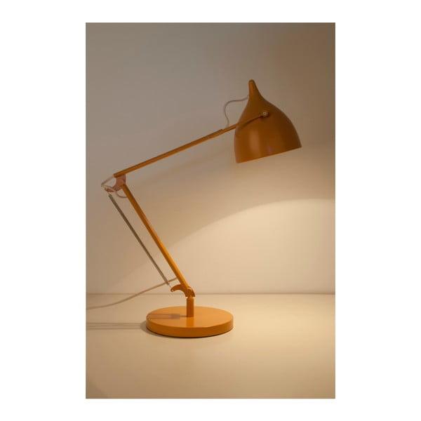 Žltá stolová lampa Zuiver Reader