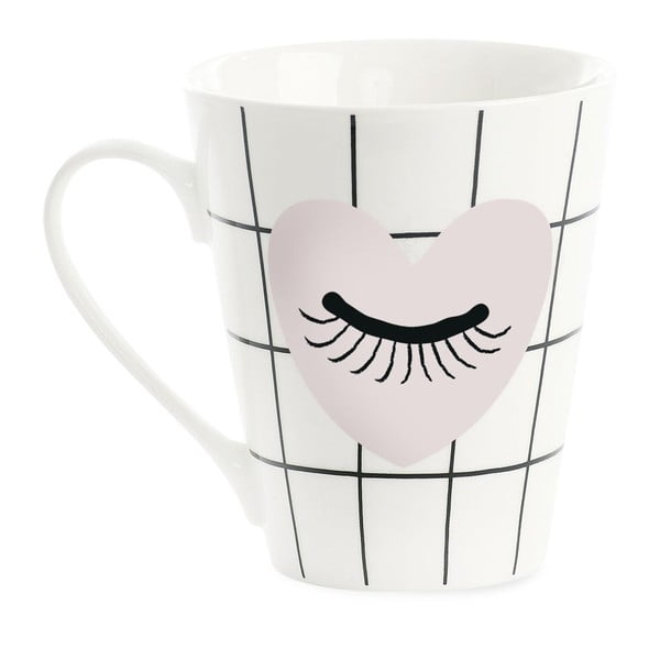 Porcelánový hrnček Miss Étoile Coffee Heart and Eye
