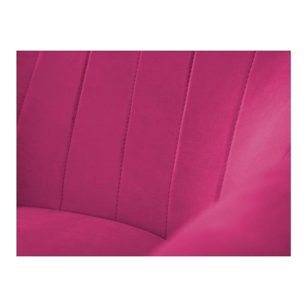 Ružové kreslo Mazzini Sofas Benito