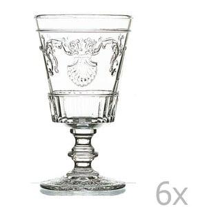 Sada 6 pohárov na víno Versailles, 400 ml