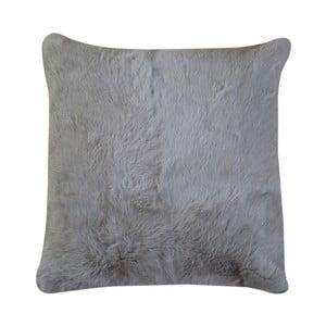 Béžový vankúš z králičej kože Pipsa Pennio, 40×40 cm