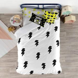 Set obliečky na prikrývku a vankúš Baleno Thunder, 140×200 cm
