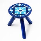 Ručne maľovaná stolička Vistea, 28 cm