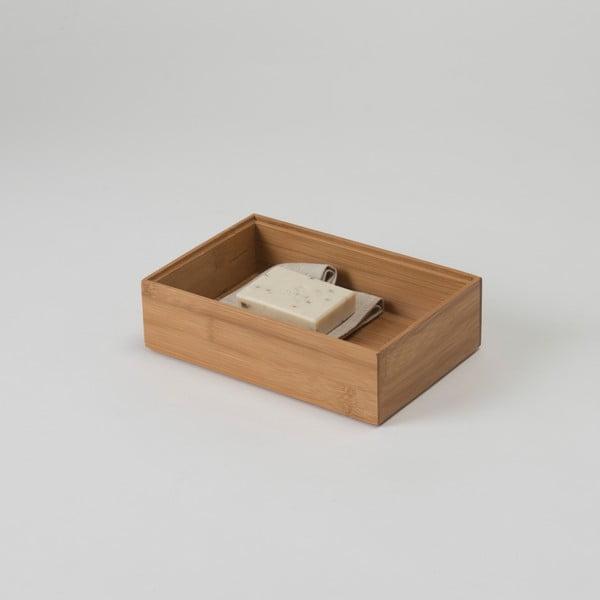 Bambusový box Compactor, 25,5 × 15 × 6,35 cm