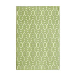 Zelený koberec Nourison Baja Cuzco, 290×201cm
