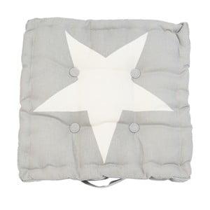 Sivý sedák Clayre & Eef Star
