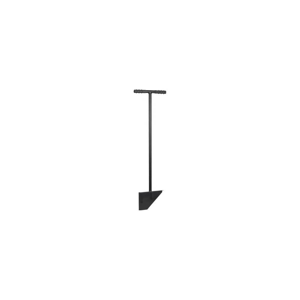 Čierny oceľový zarovnávač trávnika Fiskars Solid