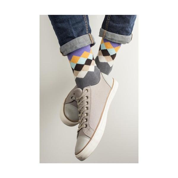 Sada 4 párov unisex ponožiek Funky Steps Leis, veľkosť 39/45