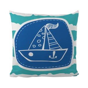 Vankúš My Small Boat, 50x50 cm