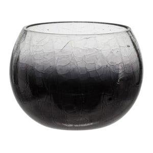 Svietnik Ball Crackle Purple, 12x9 cm
