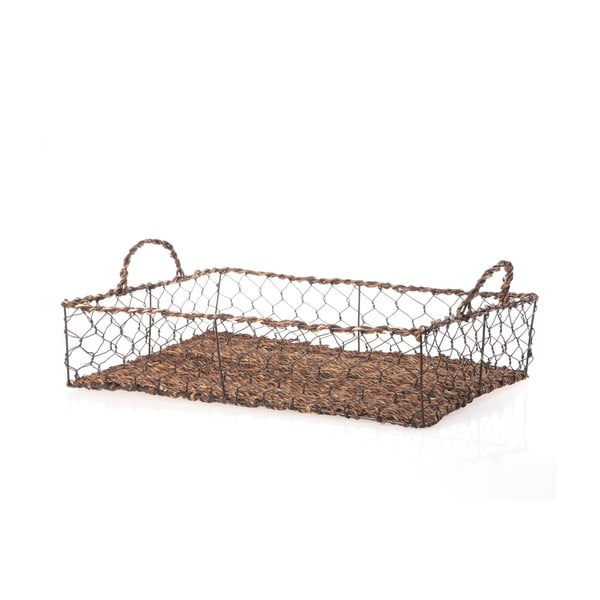 Prútený podnos Wicker Rectangle, 48 cm