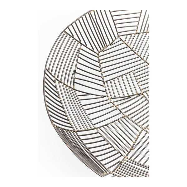 Čierna misa z ocele Kare Design Outlines, ⌀ 42 cm