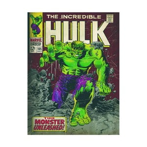 Obraz Pyramid International Incredible Hulk, 60 × 80 cm