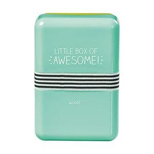 Obedová škatuľka s gumičkou Happy Jackson Awesome
