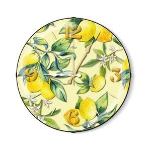 Nástenné hodiny s citrusmi The Mia