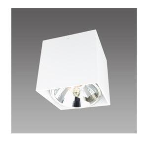 Biele stropné svietidlo Light Prestige Aliano, šírka 12 cm