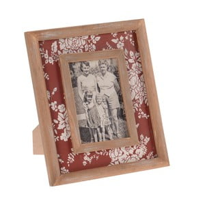 Drevený rámik na fotografie InArt, červený