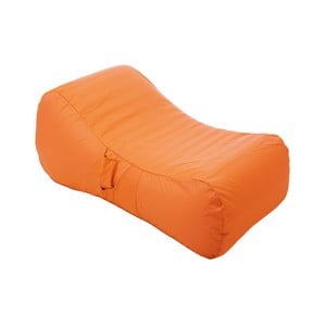 Oranžové nafukovacie ležadlo do bazénu Sunvbes Wave