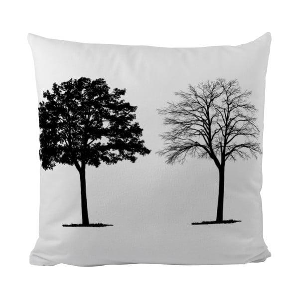 Vankúšik Black Shake Two Trees, 40x40 cm
