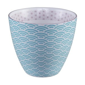 Modro-biely hrnček na čaj Tokyo Design Studio Star/Wave, 350 ml