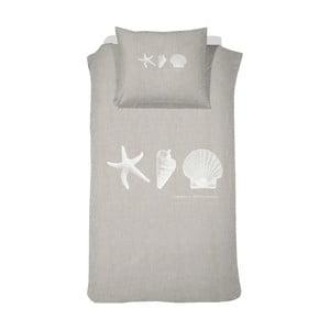 Bavlnené obliečky Cinderella Cascara Linen, 140x200cm