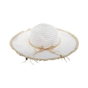 Slamený klobúk BLE by Inart Blanca