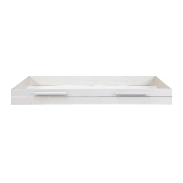 Biela spodná zásuvka na posteľ Robin, 90x200cm