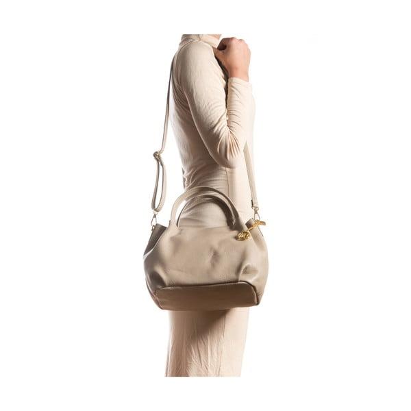 Kožená kabelka Giada, sivohnedá