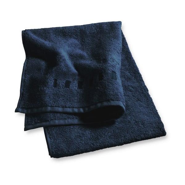 Tmavomodrý uterák Esprit Solid, 35x50cm