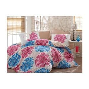 Bavlnené obliečky s plachtou Aura, 160 x 220 cm