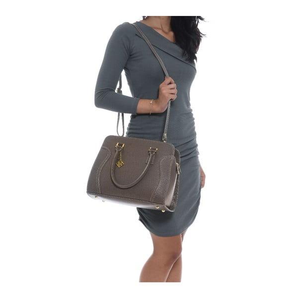 Kožená kabelka Isabella Rhea 427 Fango
