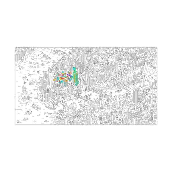 Maľovanka New York, XXL (180x100 cm)