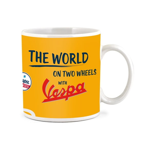Hrnček Vespa The World, 300 ml