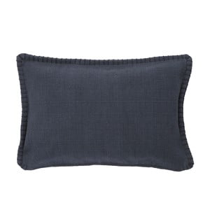 Čierna obliečka na vankúš A Simple Mess Mathilde, 60×40cm