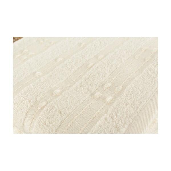 Sada 2 krémových uterákov Patlac, 50 x 90 cm