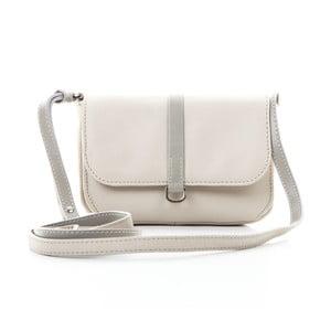Biela kožená kabelka Gianni Conti Marina