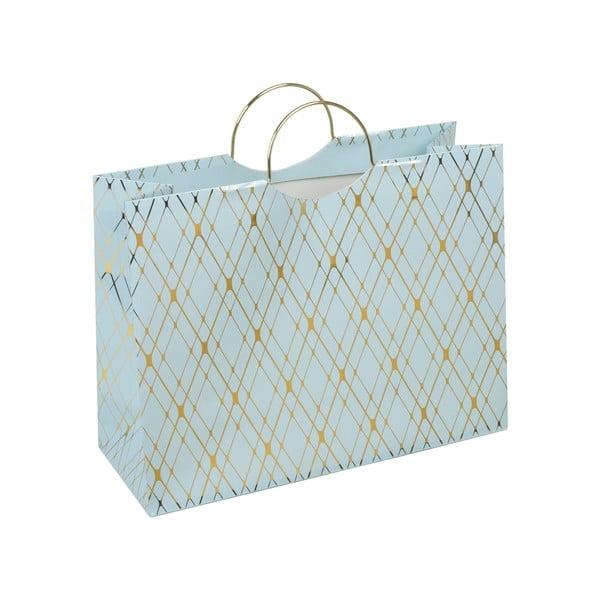 Modrá darčeková taška Tri-Coastal Design Stockholm