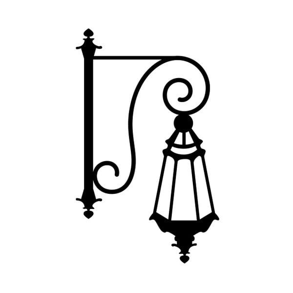 Samolepka na stenu Lampion