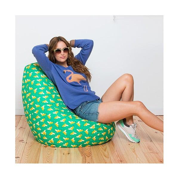 Vak na sedenie Banana z bistra U Kubistu