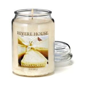 Vonná sviečka v skle s vôňou vanilkového krému Candle-Lite, doba horenia až 120 hodín