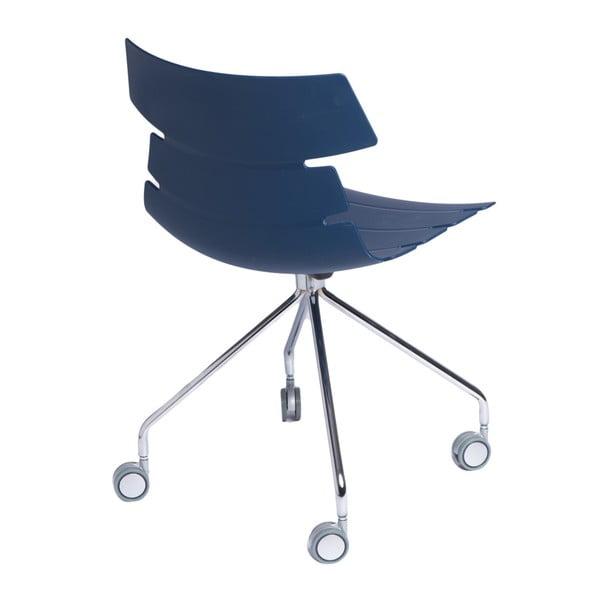 Sada 2 stoličiek D2 Techno Roll, modré
