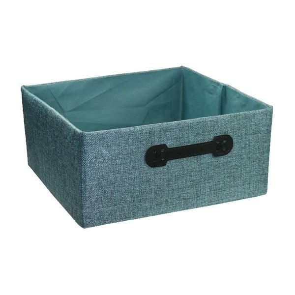 Úložný box Ordinett Halfcube Water, 32x32 cm