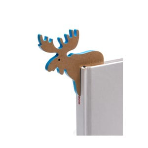 Záložka do knižky v tvare losa Thinking gifts Woodland