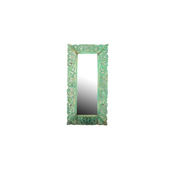 Zrkadlo Orient 60x120 cm, modré