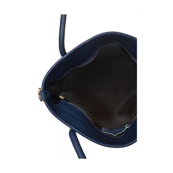 Kožená kabelka Markese 6398 Teal