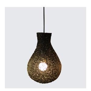 Závesná lampa Lampion, čierna